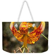 Winged Flower Weekender Tote Bag