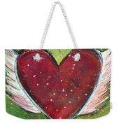 Winged Heart Number 1 Weekender Tote Bag