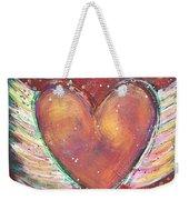 Winged Heart Number 2 Weekender Tote Bag
