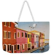 Wingin It In Venice Weekender Tote Bag