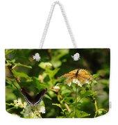 Wings And Blooms Weekender Tote Bag