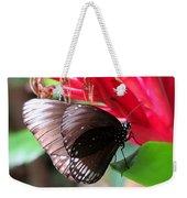 Wings Of Brown - Butterfly Weekender Tote Bag