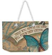 Wings Of Hope Weekender Tote Bag by Debbie DeWitt