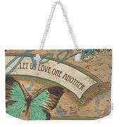 Wings Of Love Weekender Tote Bag