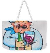 Wining Chef Weekender Tote Bag