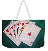 Wining Hand 2 Weekender Tote Bag