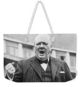 Winston Churchill Campaigning - 1945 Weekender Tote Bag