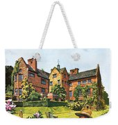 Winston Churchill Painting At Chartwell Weekender Tote Bag