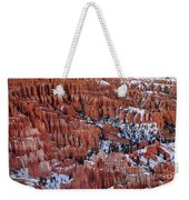 Winter Afternoon At Inspiration Point Bryce Canyon National Park  Utah Weekender Tote Bag