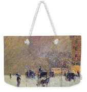 Winter Afternoon In New York Weekender Tote Bag