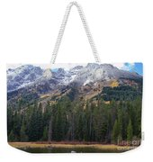 Winter And Fall Mix Weekender Tote Bag