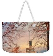 Winter And The Tug Boat Weekender Tote Bag