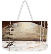 Winter Apex Weekender Tote Bag