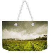 Winter Apple Orchard Weekender Tote Bag