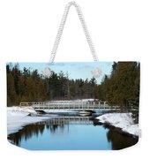 Winter At Hickey Creek Weekender Tote Bag