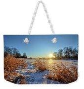 Winter At Mayne's Weekender Tote Bag