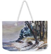 Winter At The Baltic Sea  Weekender Tote Bag