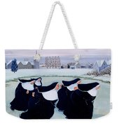 Winter At The Convent Weekender Tote Bag