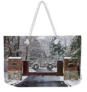 Winter At The Gate Weekender Tote Bag