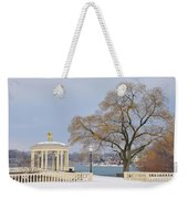 Winter At The Waterworks Weekender Tote Bag