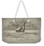 Winter At Valley Forge Weekender Tote Bag