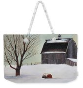 Winter Barn II Weekender Tote Bag