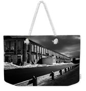 Winter Bates Mill Weekender Tote Bag by Bob Orsillo