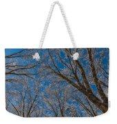 Winter Beauty Weekender Tote Bag