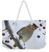 Winter Berry Treat Weekender Tote Bag