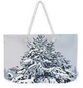Winter Blanket Weekender Tote Bag