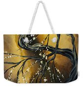 Winter Blossom By Madart Weekender Tote Bag