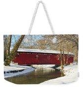 Winter Bridge  Weekender Tote Bag