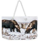 Winter Buddies Weekender Tote Bag
