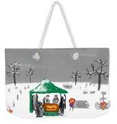 Winter Burial Weekender Tote Bag