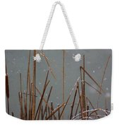 Winter Cat Tail Weekender Tote Bag