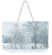 Winter Chill Weekender Tote Bag