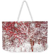 Winter Color  Weekender Tote Bag