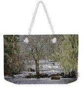 Winter Colors On The Klawock Weekender Tote Bag