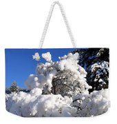 Winter Cotton Weekender Tote Bag