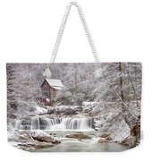 Winter Day At The Mill  Weekender Tote Bag