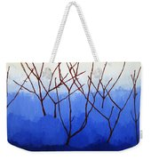 Winter Dogwood Weekender Tote Bag