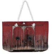 Winter Doors Weekender Tote Bag