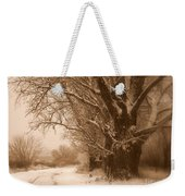 Winter Dream Weekender Tote Bag