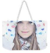 Winter Dreams Weekender Tote Bag