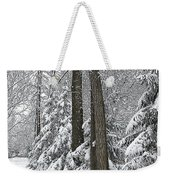 Winter Drive Weekender Tote Bag