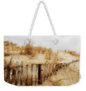 Winter Dune - Jersey Shore Weekender Tote Bag