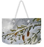 Winter Dusting Weekender Tote Bag