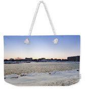 Winter Evening In Racine Weekender Tote Bag