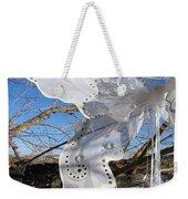 Winter Fairy Wings Weekender Tote Bag