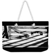 Winter Fences Weekender Tote Bag